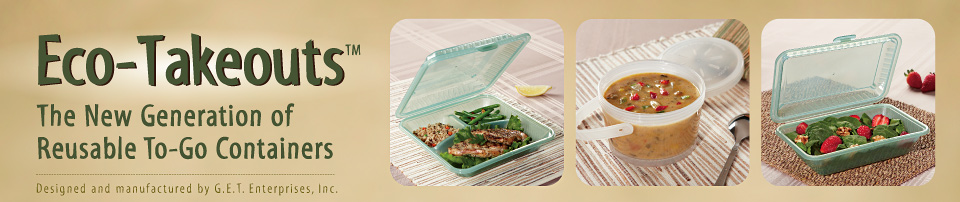 Eco-Takeouts, reusable to-go containers header